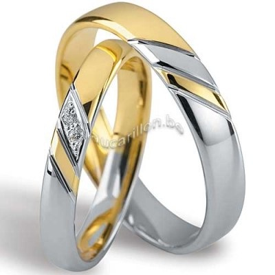 alliance mariage or blanc or jaune id es et d 39 inspiration sur le mariage. Black Bedroom Furniture Sets. Home Design Ideas